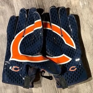 Nike Vapor Knit NFL Chicago Bears Football Gloves